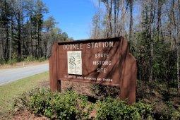 Entering Oconee Station