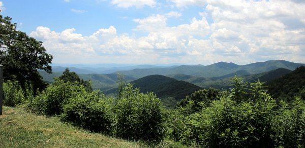 View of the Blue Ridge