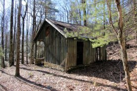 Old Cabin along the Emory Gap Toll Rd