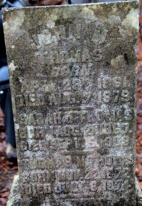 John Thomas's Gravestone