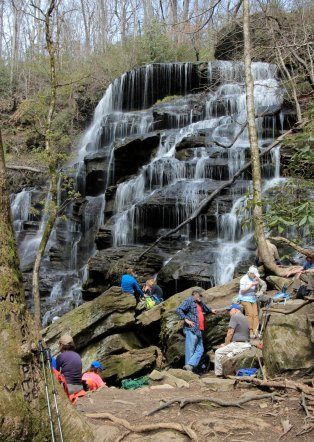 Lunch at Yellow Branch Falls